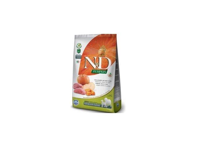 N&D Pumpkin DOG Adult M/L Boar & Apple