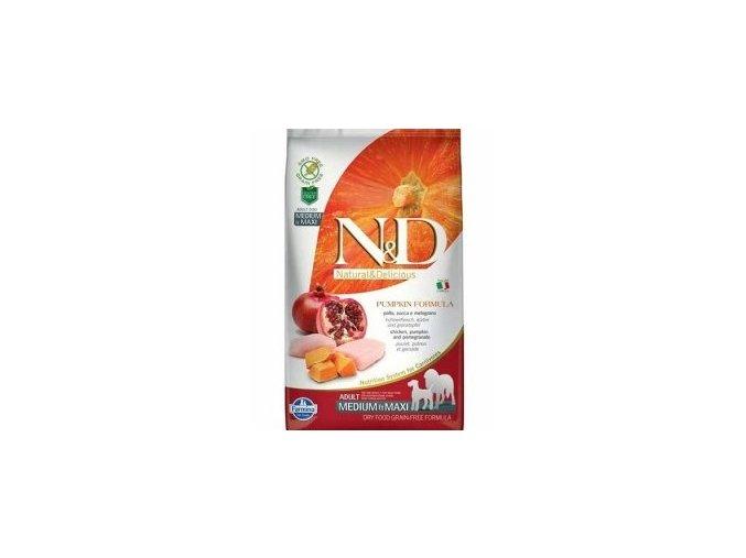 N&D Pumpkin DOG Adult M/L Chicken&Pomegranate