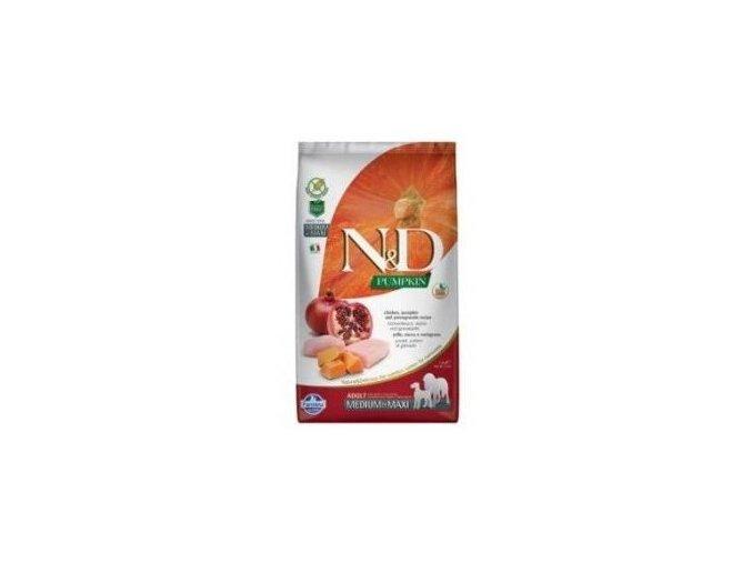 N&D Pumpkin DOG Puppy M/L Chicken & Pomegranate