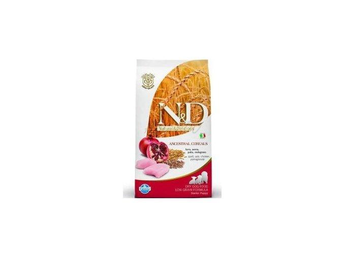 N&D Pumpkin DOG Puppy Starter Chicken&Pomegranate