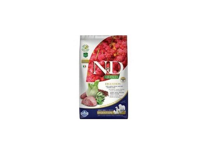 N&D Quinoa DOG Digestion Lamb & Fennel