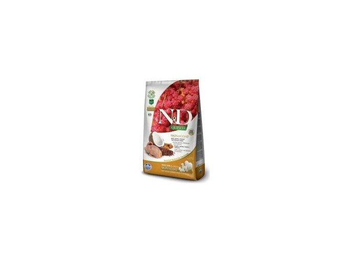 N&D Quinoa DOG Skin & Coat Quail & Coconut