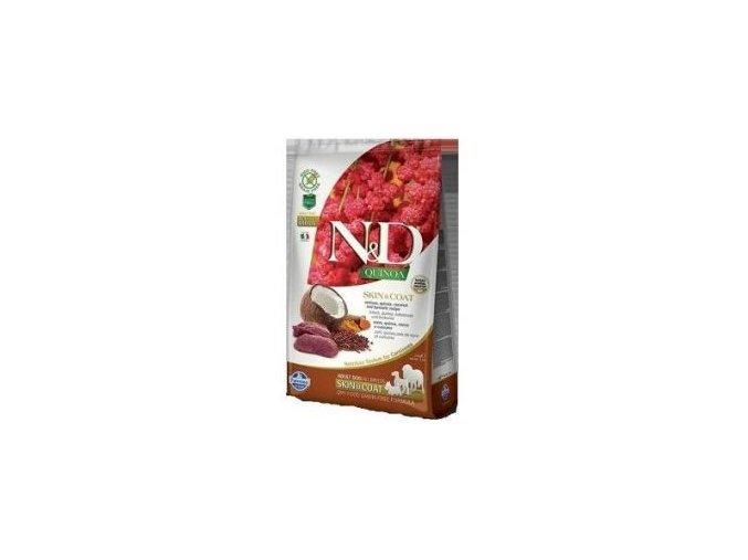 N&D Quinoa DOG Skin & Coat Venison & Coconut
