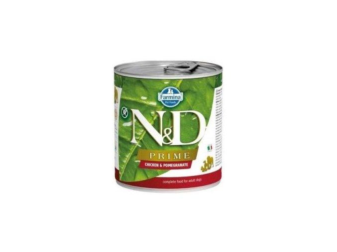 N&D DOG PRIME Adult Chicken & Pomegranate 285g
