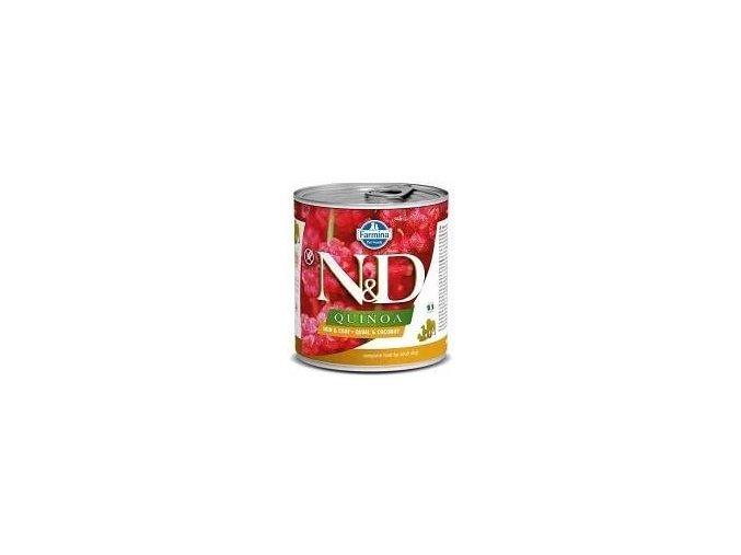 N&D DOG QUINOA Adult Quail & Coconut 285g