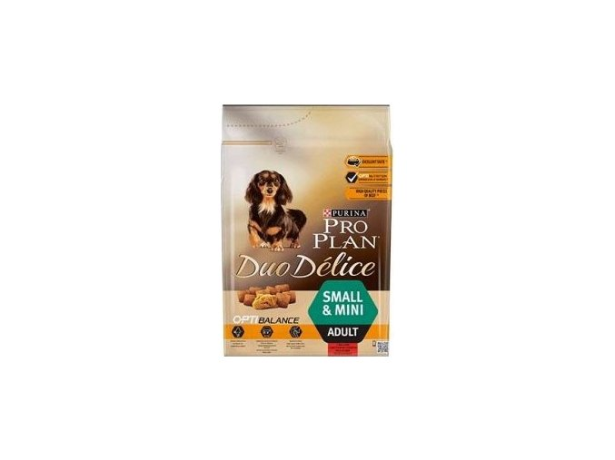 ProPlan Dog Adult Duo Délice Small & Mini Beef