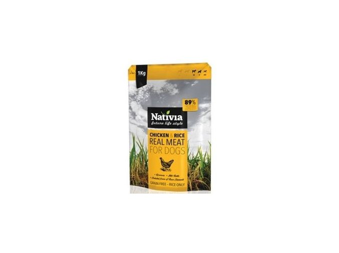 Nativia Real Meat Chicken&Rice