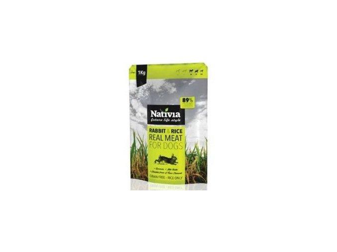 Nativia Real Meat Rabbit&Rice