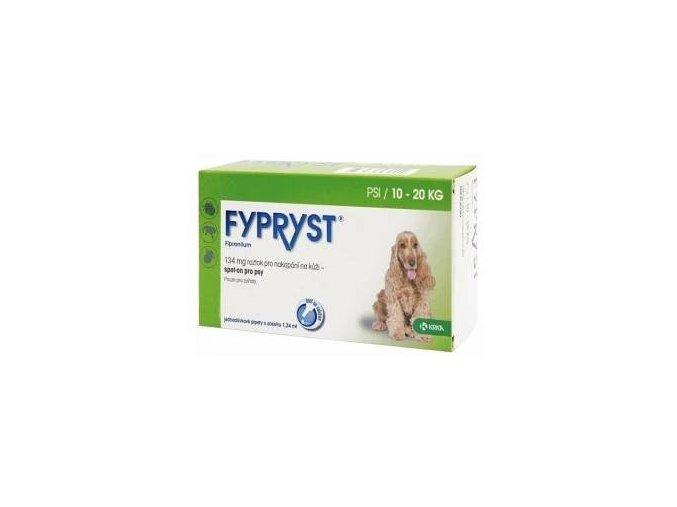 Fypryst Spot-on Dog M sol 1x1,34ml (10-20kg)