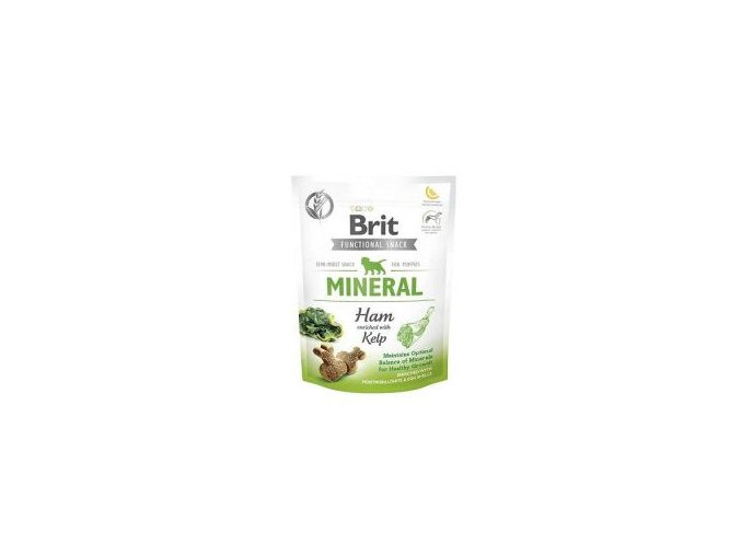Brit Care Dog Functional Snack Mineral Ham Puppies150g