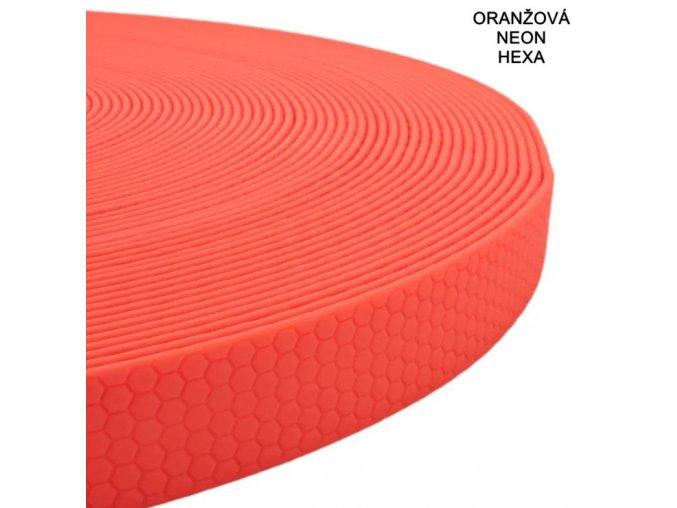 Oranžová neon hexa