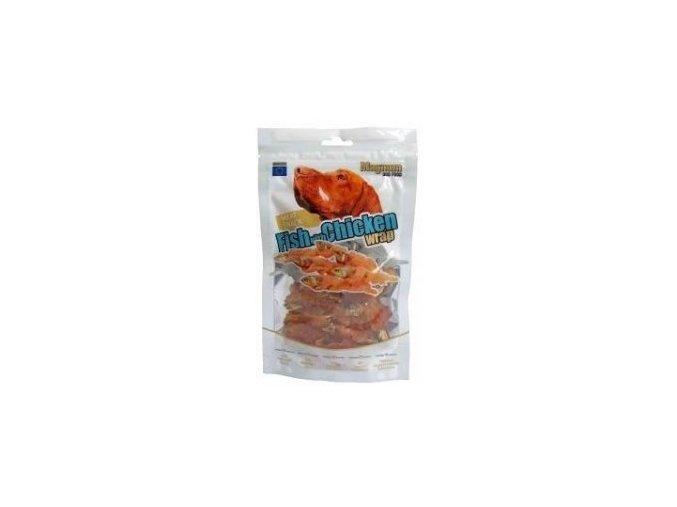 Magnum Fish with Chicken Wrap 80g