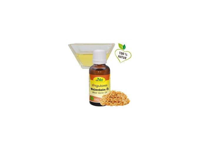 Olej z pšeničných klíčků 50 ml - cdVet