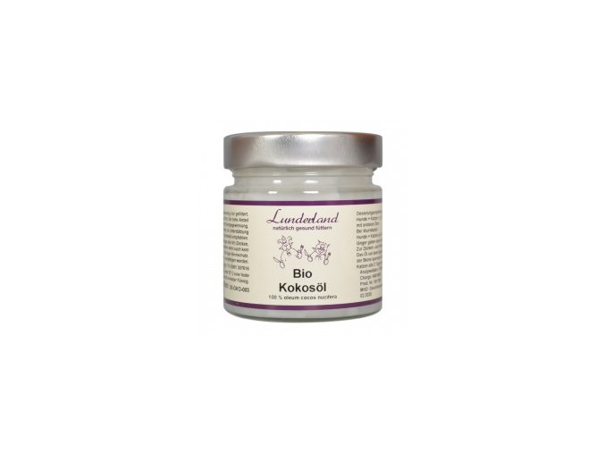 Lunderland BIO Kokosový olej 200 ml