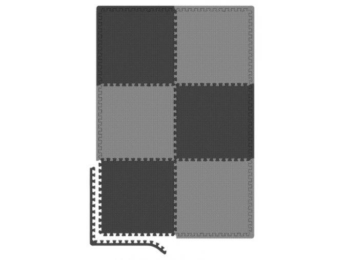 Eva šedo černá