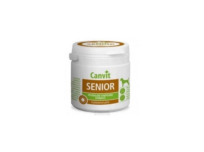 Canvit Senior pro psy ochucený 100g