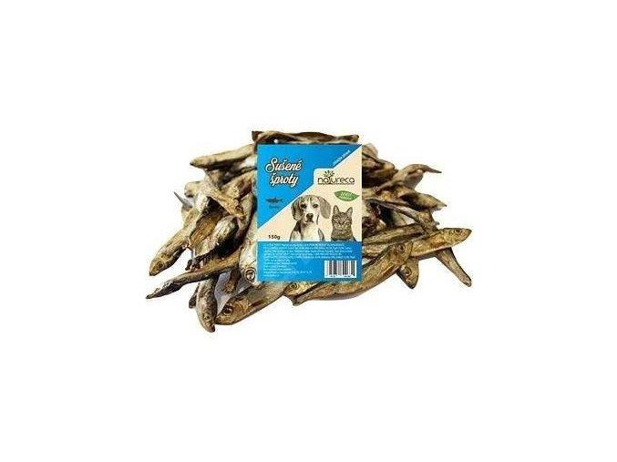 NATURECA pochoutka Šproty sušené 6-8cm 150g