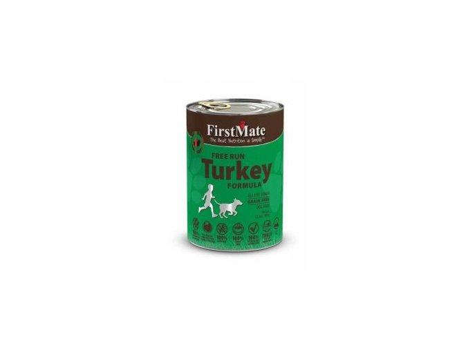 First Mate konzerva Turkey Dog Food 345g