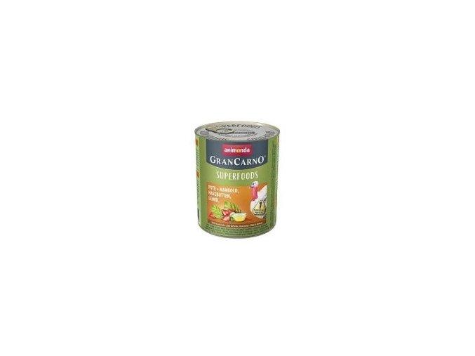 GRANCARNO Superfoods krůta,mangold,šípky,lněný olej
