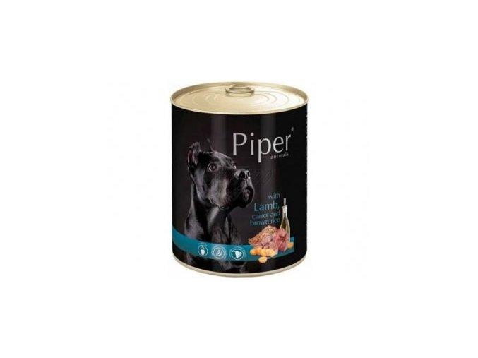 PIPER s jehněčím, mrkví a rýží, konzerva pro psy