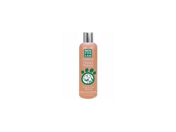 Menforsan Šampon ochranný s norkovým olejem