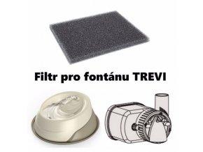 Fontána filtr náhradní (4 ks) Trevi
