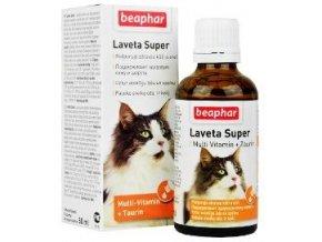 Beaphar Laveta Super vit. vyživující srst kočka 50ml