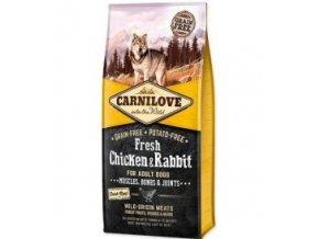 Carnilove Dog Fresh Chicken & Rabbit for Adult