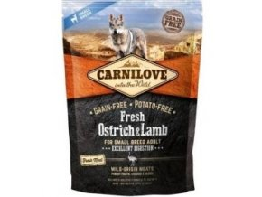 Carnilove Dog Fresh Ostrich&Lamb for Small Breed