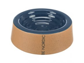 BE NORDIC keramická miska, 0.2 l/ø 16 cm, tmavě-modrá/béžová