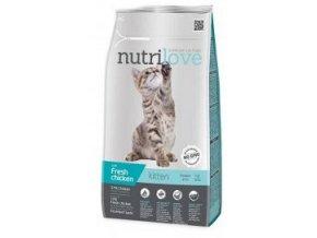 Nutrilove kočka Kitten kuřecí, granule