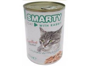 MARTY chunks Cat Králík 410 g