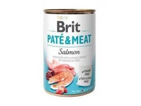 Brit Dog konz Paté & Meat Salmon