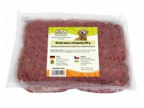 Hovězí maso a chrupavky