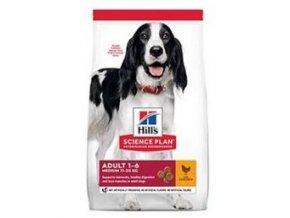 Hill's Can.Dry SP Adult Medium Lamb&Rice 18kg