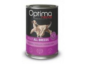 Optima Nova Dog Chicken konzerva 400g