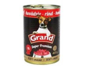 GRAND konz. Superpremium pes hovězí