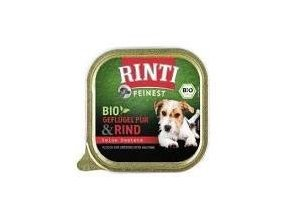 Rinti Dog BIO vanička hovězí 150g