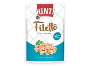 Rinti Dog Filetto kapsa kuře+losos v želé 100g