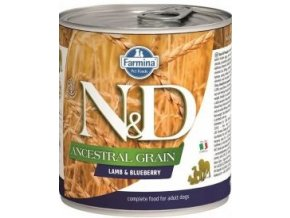N&D DOG LOW GRAIN Adult Lamb & Blueberry 285g
