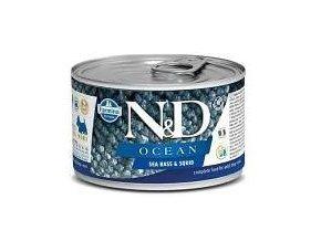 N&D DOG OCEAN Adult Codfish & Squid Mini 140g