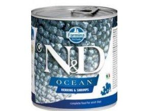 N&D DOG OCEAN Adult Herring & Shrimps 285g