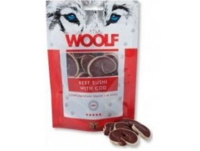 WOOLF Beef Sushi with Cod 100g