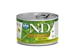 N&D DOG PRIME Adult Boar & Apple Mini 140g