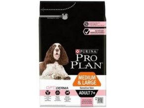 ProPlan Dog Adult 7+ Medium&Large Optiderma 14kg