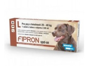 Fipron 268mg Spot-On Dog L sol 3x2,68ml