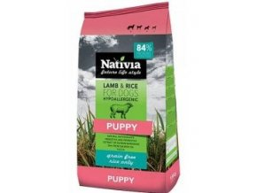 Nativia Dog Puppy Lamb&Rice