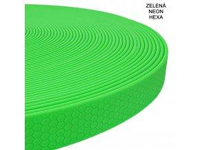 Zelená neon hexa