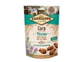 Carnilove Dog Semi Moist Snack Carp&Thyme 200g