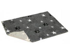 VetBed šedá bílé hvězdy